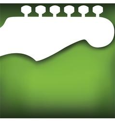 Headstock Background vector image vector image