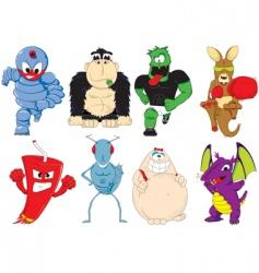 kids cartoons vector image vector image