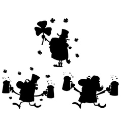 Cartoon st patricks design vector image vector image