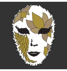 Decorative mask vector