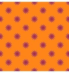Flowers geometric seamless pattern 6406 vector image