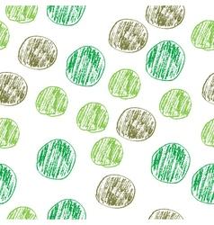 Handdrawn sketch pattern Seamless vector