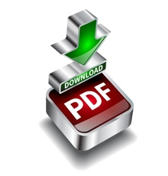 pdf download icon button internet document vector image