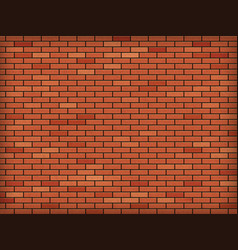Red blank brick wall industrial construction vector