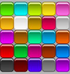 Square buttons seamless vector