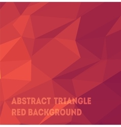 Triangle background pattern vector image