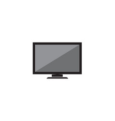 tv lcd led monitor icon vector image