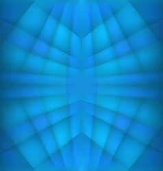 Abstract geometric blue background vector image vector image