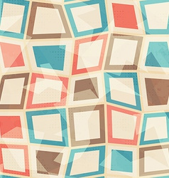 colored squares seamless pattern vector image vector image