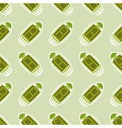 seamless background with radio tubes vector image