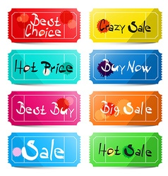 Best Choice - Crazy Sale - Hot price - Buy Now - vector image vector image