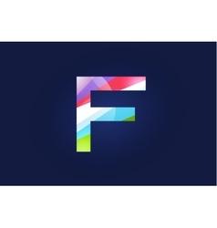 F letter logo icon symbol vector image