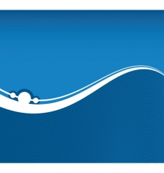 flowing background vector image