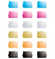 folder transparent vector image