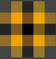 halloween tartan plaid pattern scottish cage vector image
