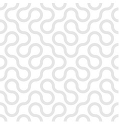 trendy seamless curly pattern stylish vector image