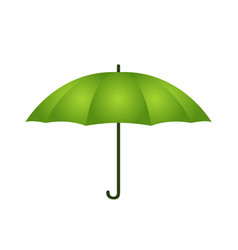 umbrella in cartoon style opened parasol vector image