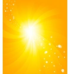 vector orange background vector image