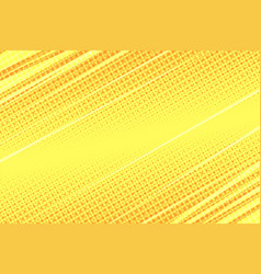 Yellow modern stripe dynamics background vector