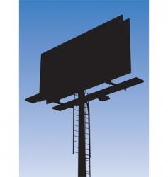 billboard vector image vector image