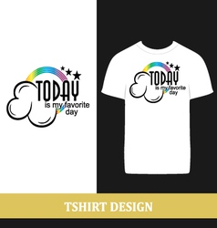 tshirt design vector image