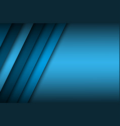 Abstract background with blue layers above each vector