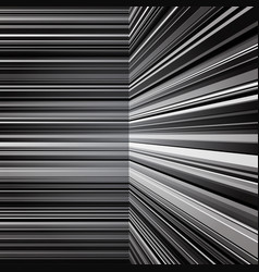 Abstract warped grey stripes background vector