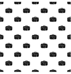 Apple lunch box pattern seamless vector