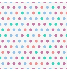 Background with colorful dots seamless vector