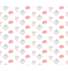 concussion dizziness human brain icon healthcare vector image