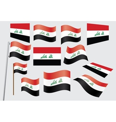 flag of Iraq vector image