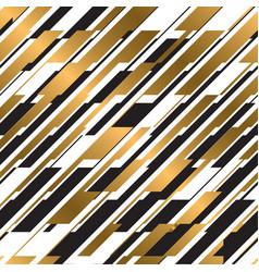 modern diagonal striped seamless pattern vector image