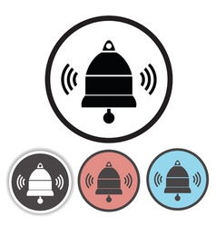old bell icons vector image
