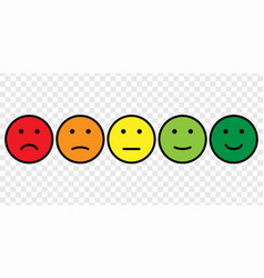 Smiley face icon set vector