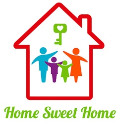 SweetHome vector image