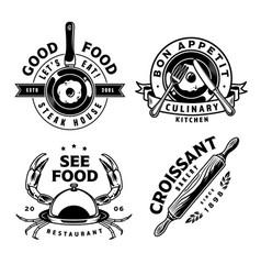 vintage cooking prints vector image
