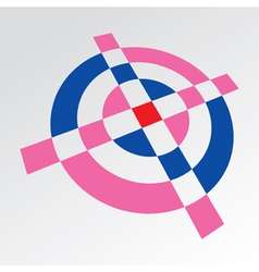 Crosshair Target vector image vector image