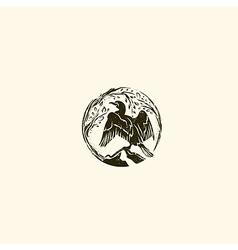 Cormorant Logo vector image