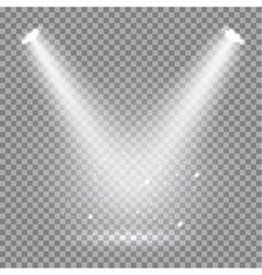 Scene illumination transparent effects on a plaid vector image