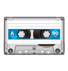 cassette tape isolated vector image