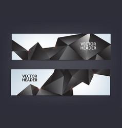 abstract polygonal mosaic geometric triangular vector image