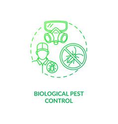 Biological pest control concept icon vector
