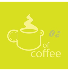 Coffee Outline vector image
