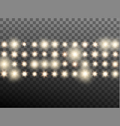 Effect of warm beige stage or stadium spotlights vector