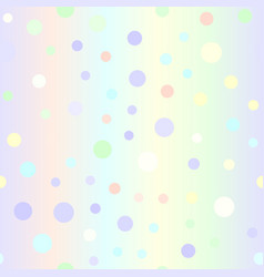 Gradient circle pattern seamless vector