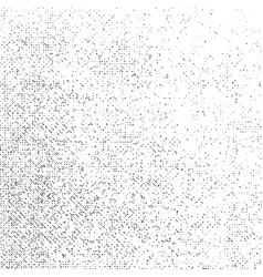 Grunge texture on white background abstract dot vector