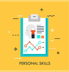 human resources and personnel selection concept vector image