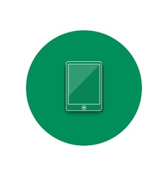 Line icon of smartphone vector image