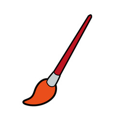 paint brush icon image vector image