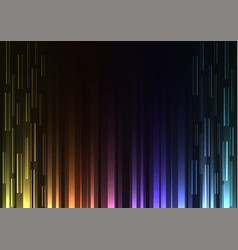 rainbow overlap pixel speed abstract background vector image